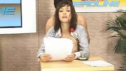 Maria Ozawa News Announcer