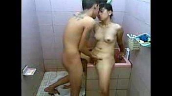 แอบเย็ดน้องเมียในห้องน้ำสุดมันส์